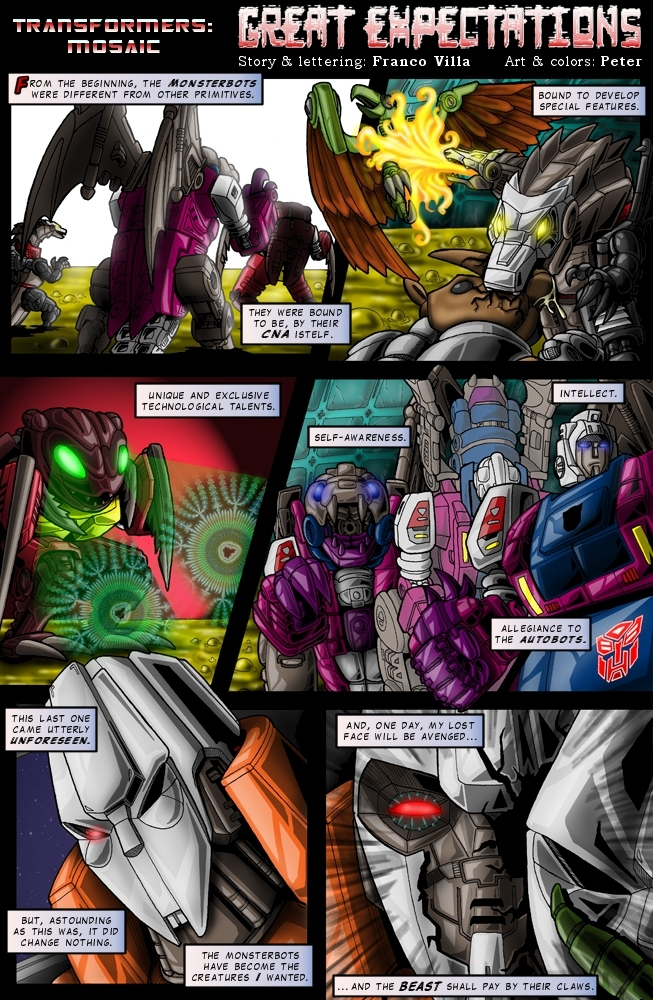 GREAT EXPECTATIONS by Transformers-Mosaic