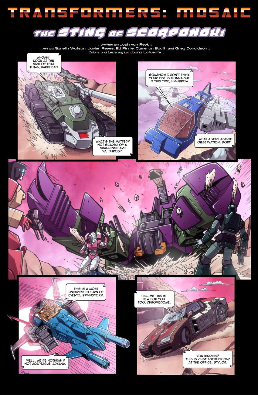 THE STING OF SCORPONOK by Transformers-Mosaic