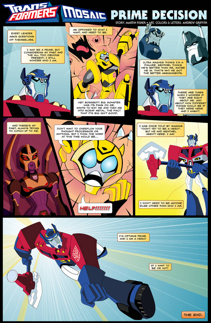 Prime Decision by Transformers-Mosaic