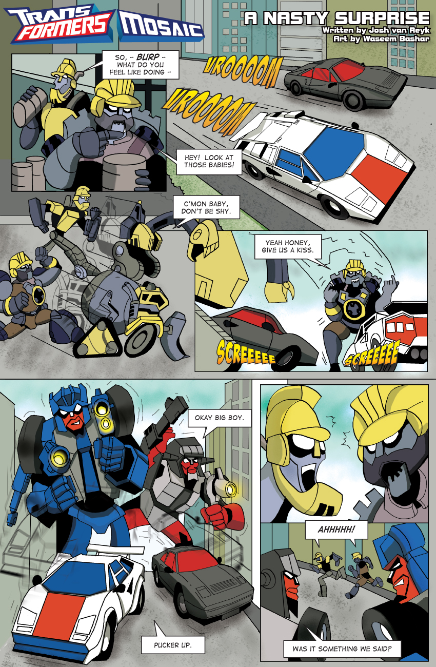 A Nasty Surprise by Transformers-Mosaic