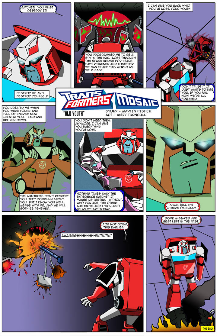 Old Youth by Transformers-Mosaic
