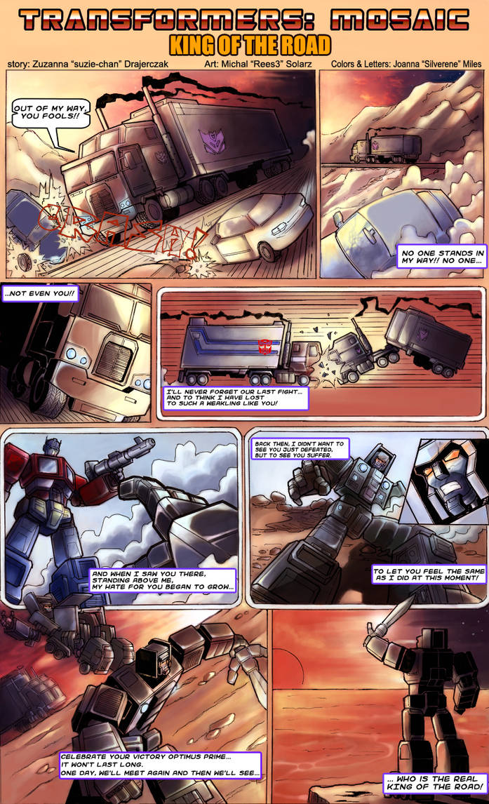 King of the Road by Transformers-Mosaic
