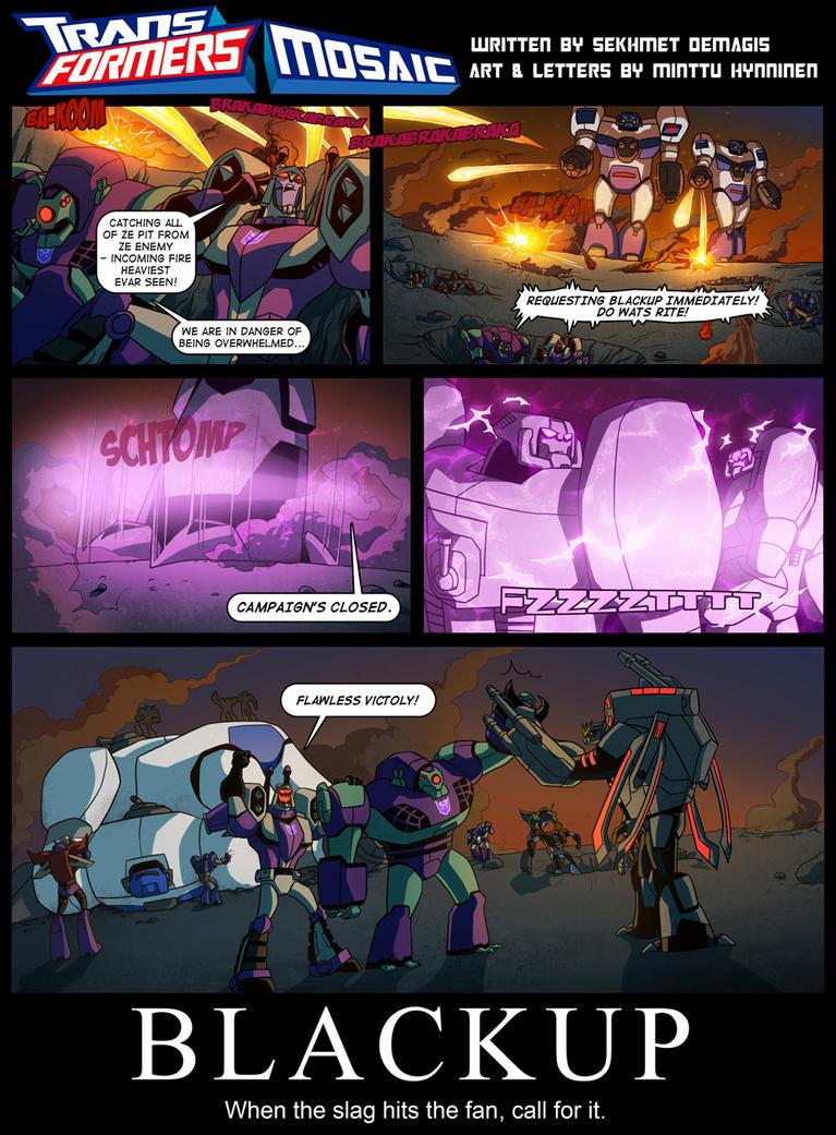 Blackup by Transformers-Mosaic
