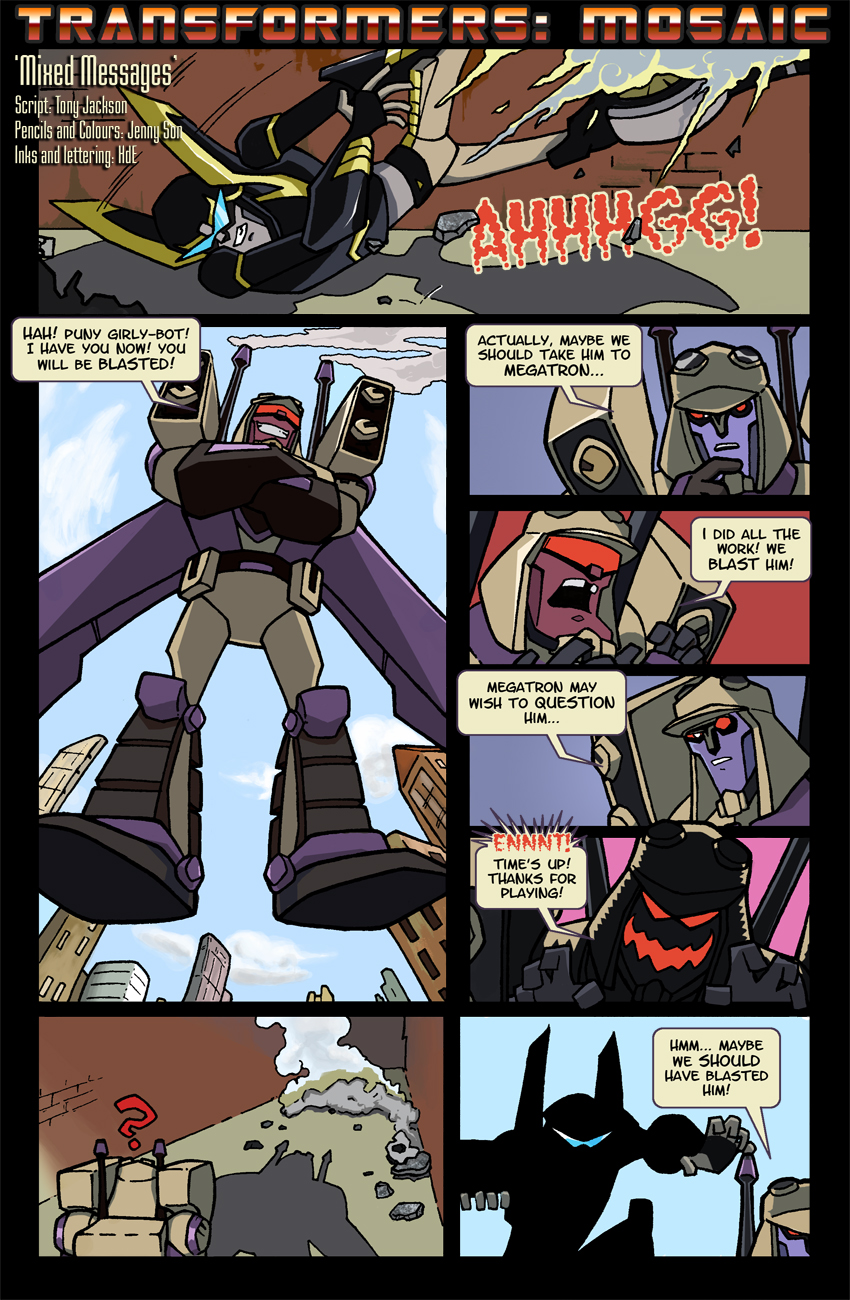 Mixed Messages by Transformers-Mosaic