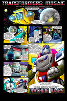 Machine Wars by Transformers-Mosaic