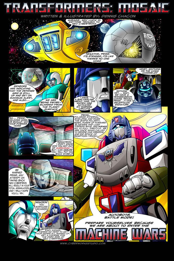 machine wars transformers