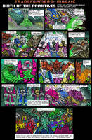 Birth of the Primitives by Transformers-Mosaic