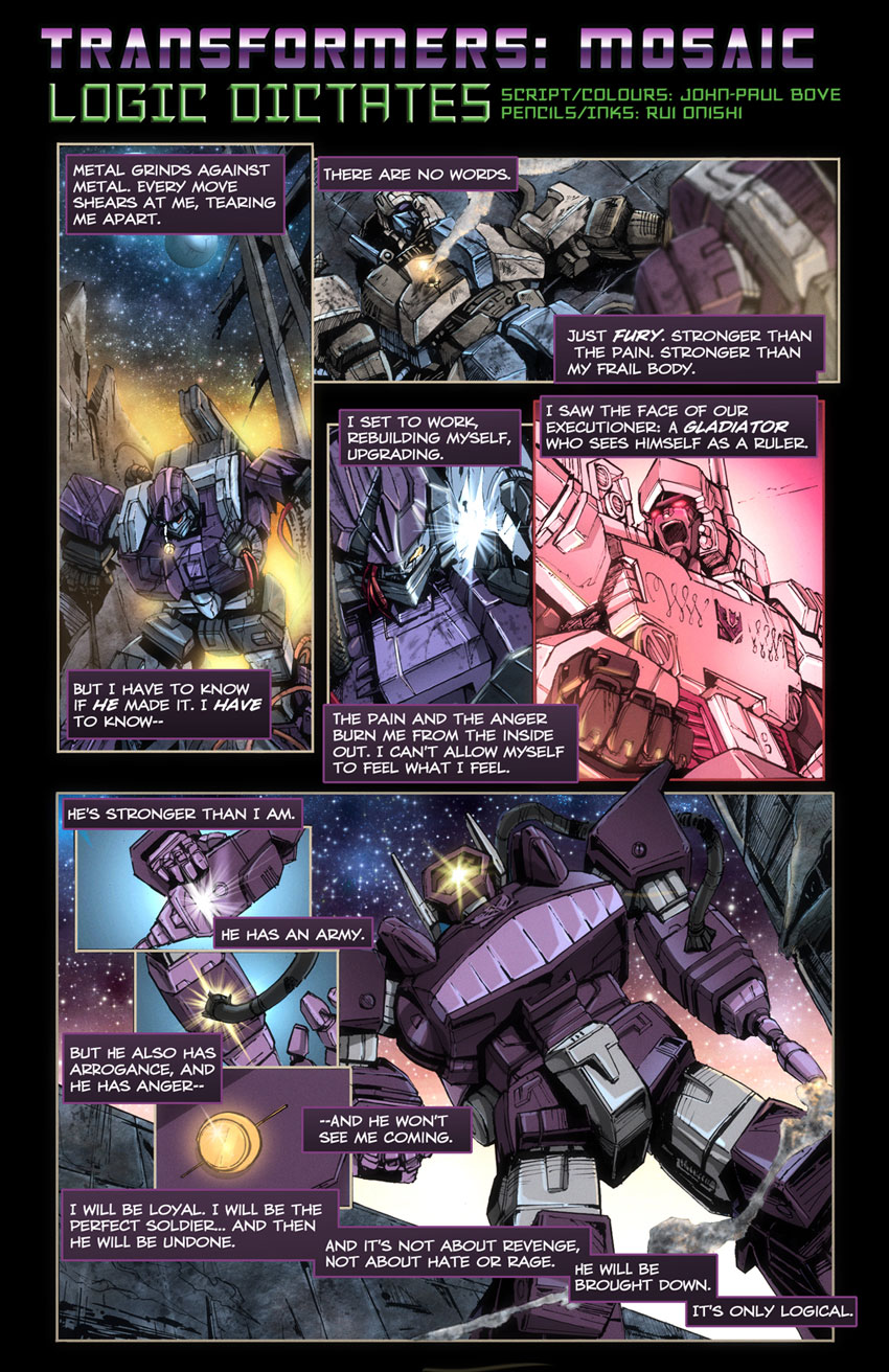 Logic Dictates by Transformers-Mosaic