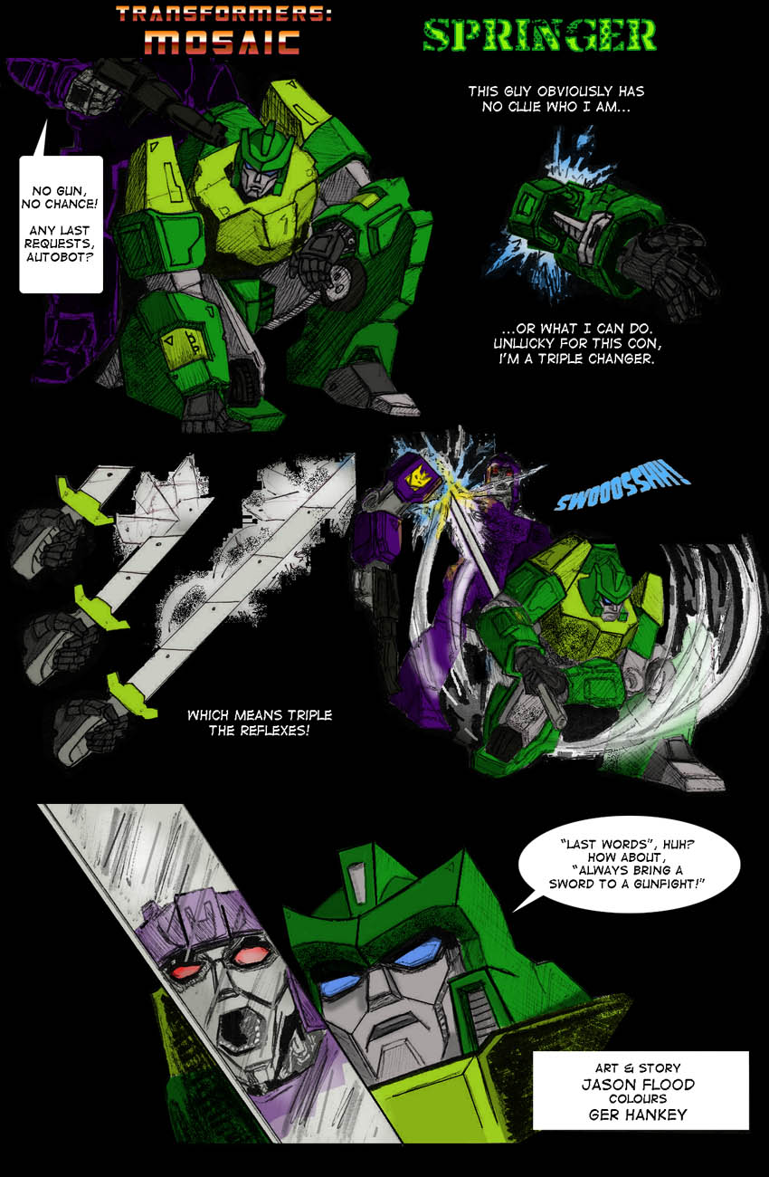 Springer by Transformers-Mosaic