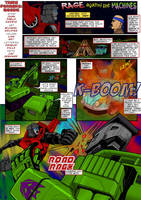 RAGE AGAINST THE MACHINES by Transformers-Mosaic
