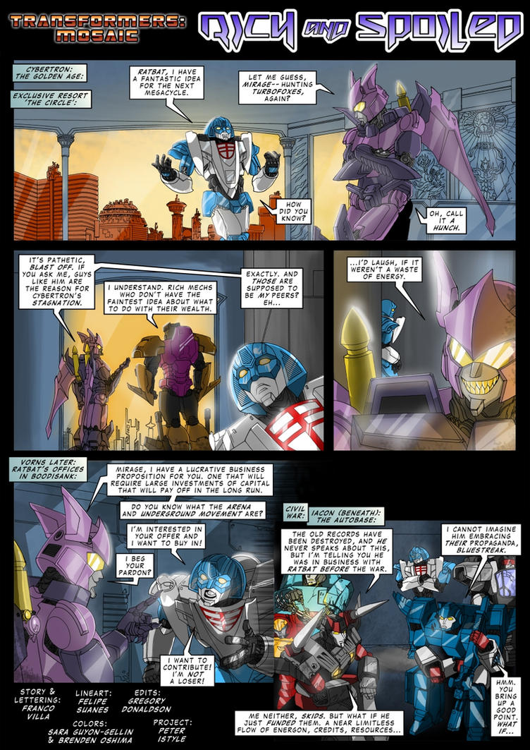 RICH AND SPOILED by Transformers-Mosaic