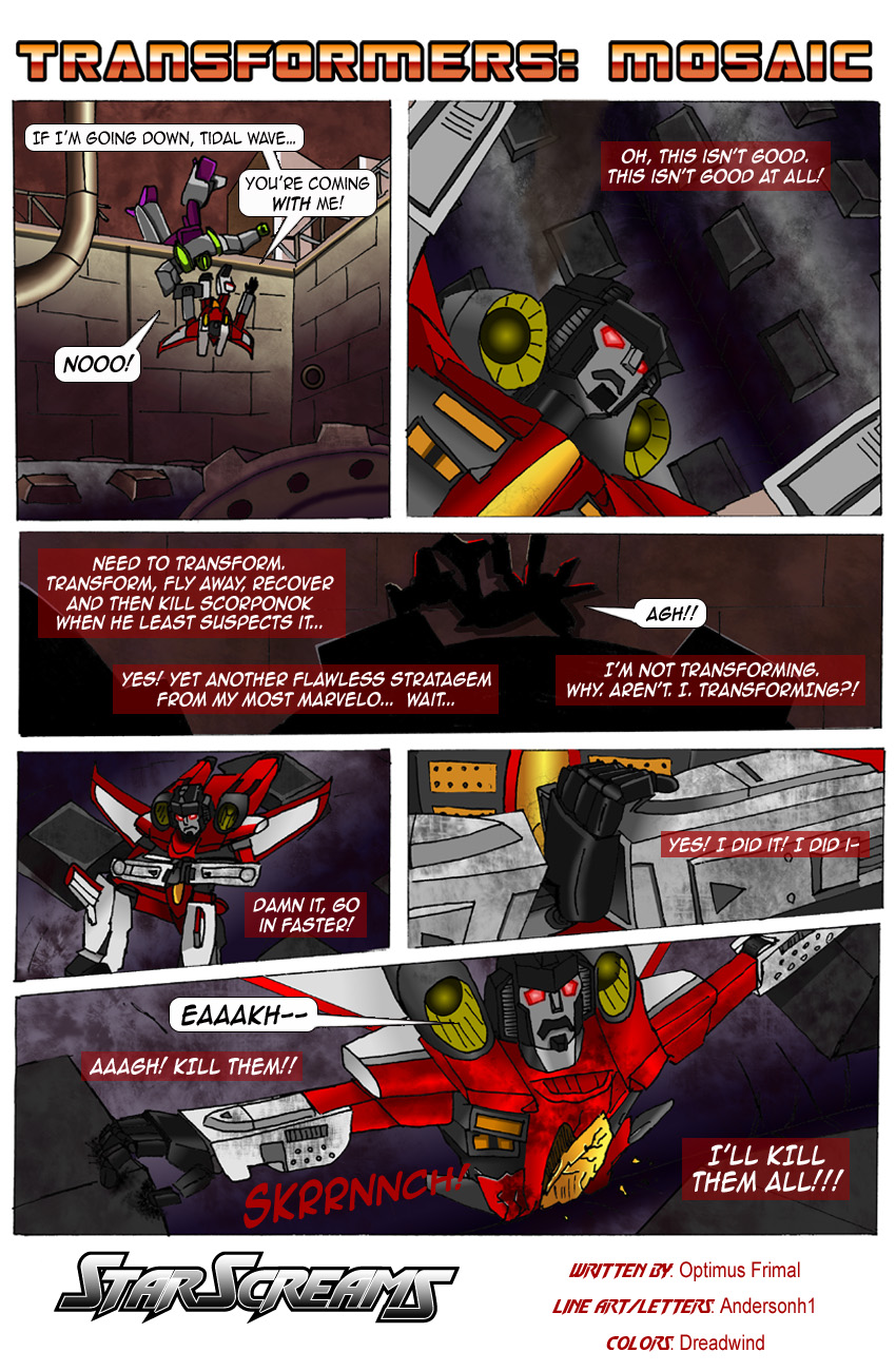 STARSCREAMS by Transformers-Mosaic