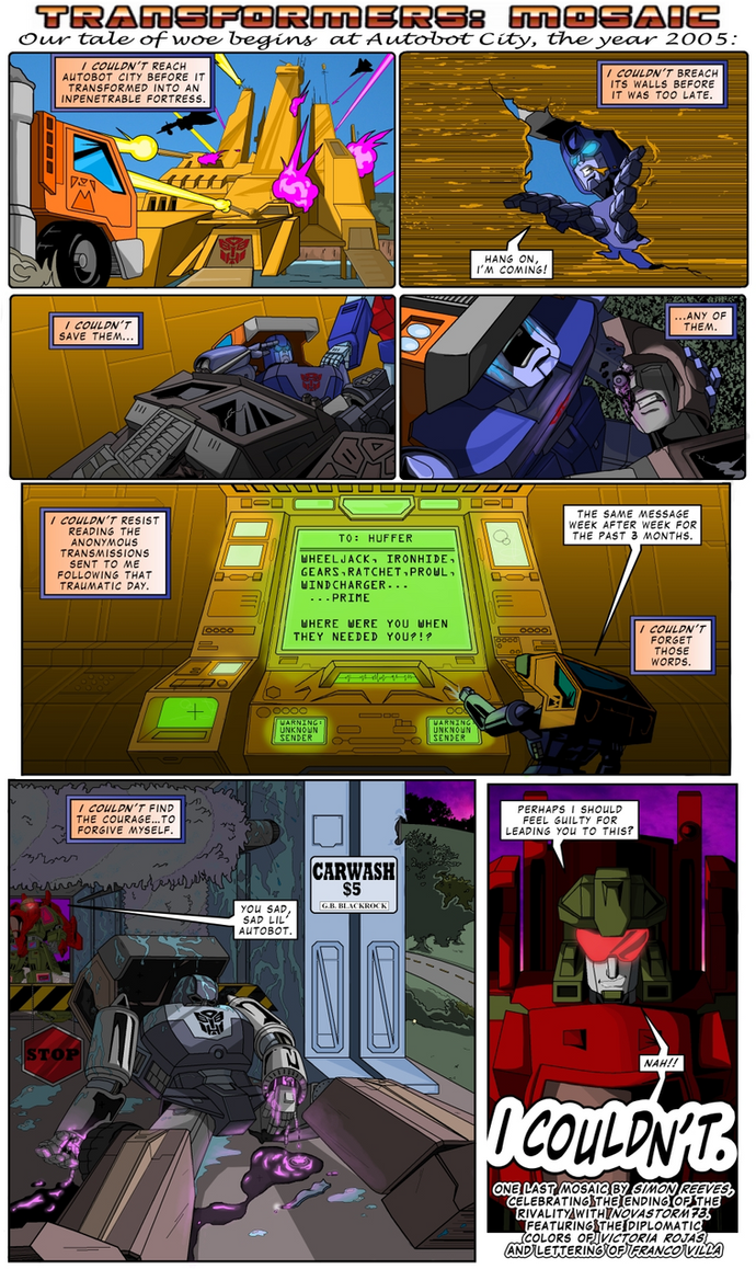 I COULDN'T by Transformers-Mosaic