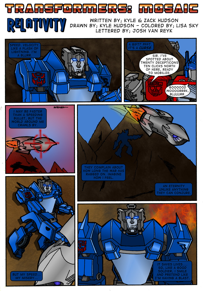 RELATIVITY by Transformers-Mosaic