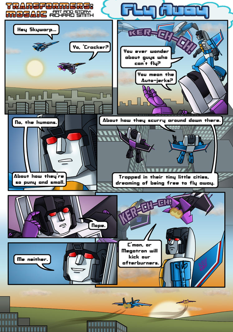 FLY AWAY by Transformers-Mosaic