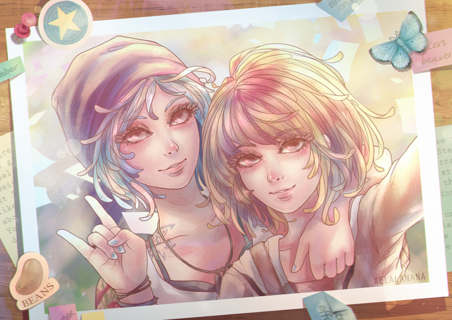 Chloe and Max by xelalanana