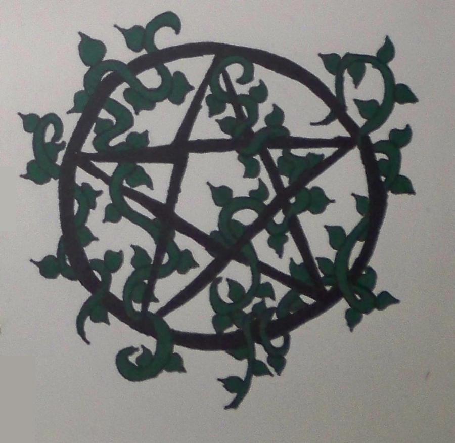 pentagram tattoo design by bueatiful failure on deviantart. Black Bedroom Furniture Sets. Home Design Ideas