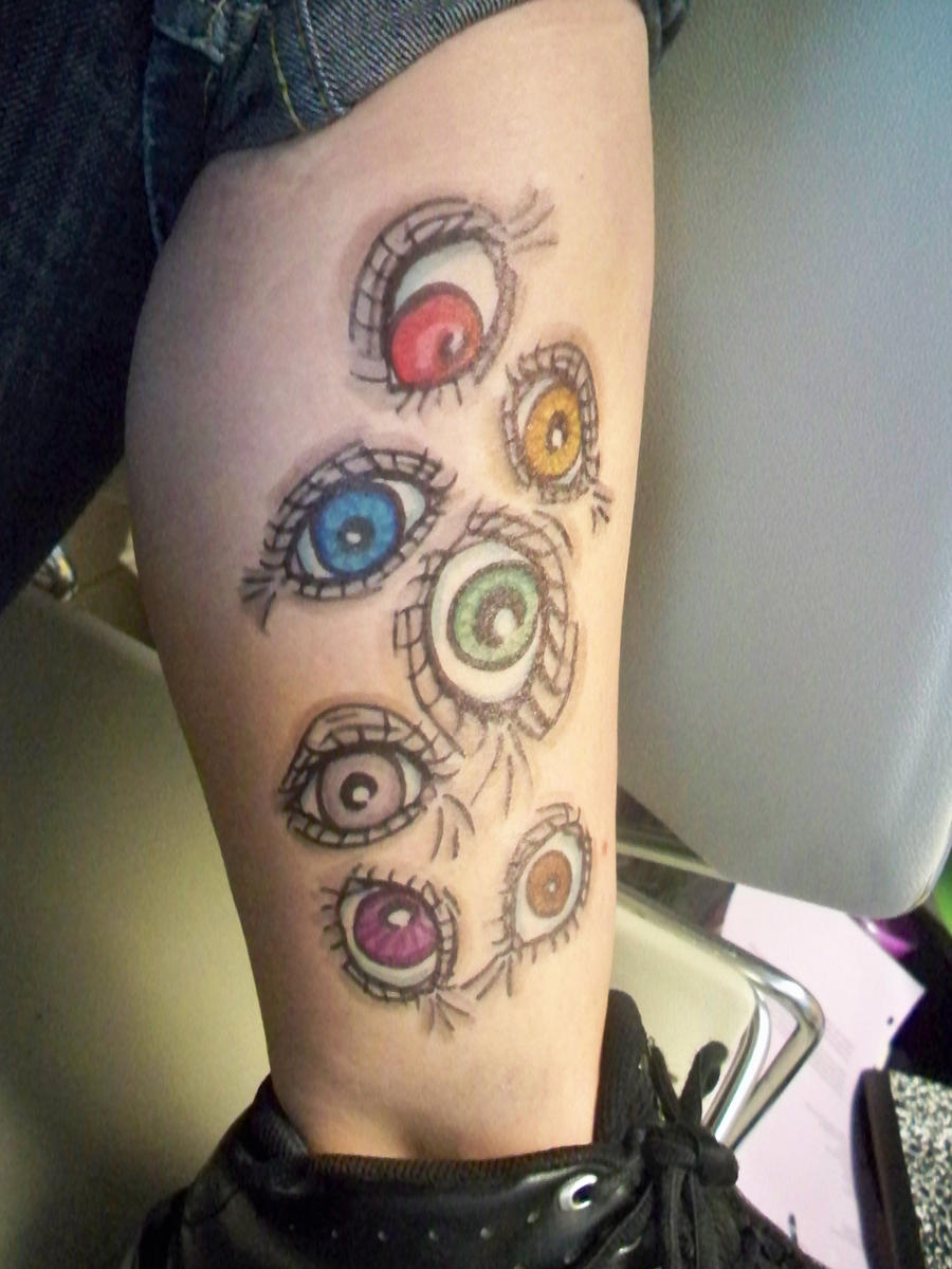 Sharpie Tattoo: Argos by ~bueatiful-failure on deviantART