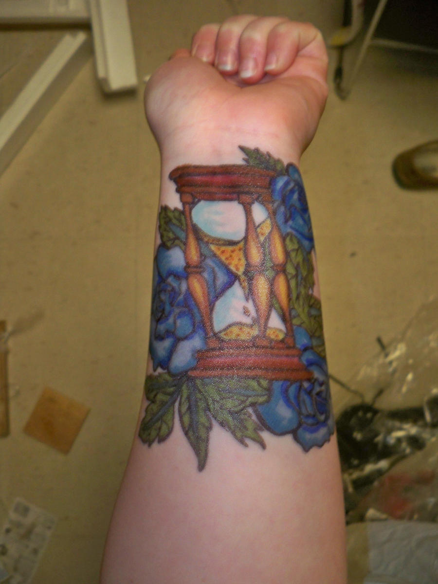 Sharpie Tattoo Hourglass By Bueatiful Failure On DeviantART
