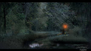 Dark Swamp Witch
