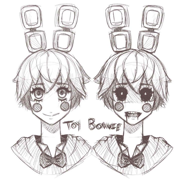 Toy Bonnie by WonderlandsNightmare