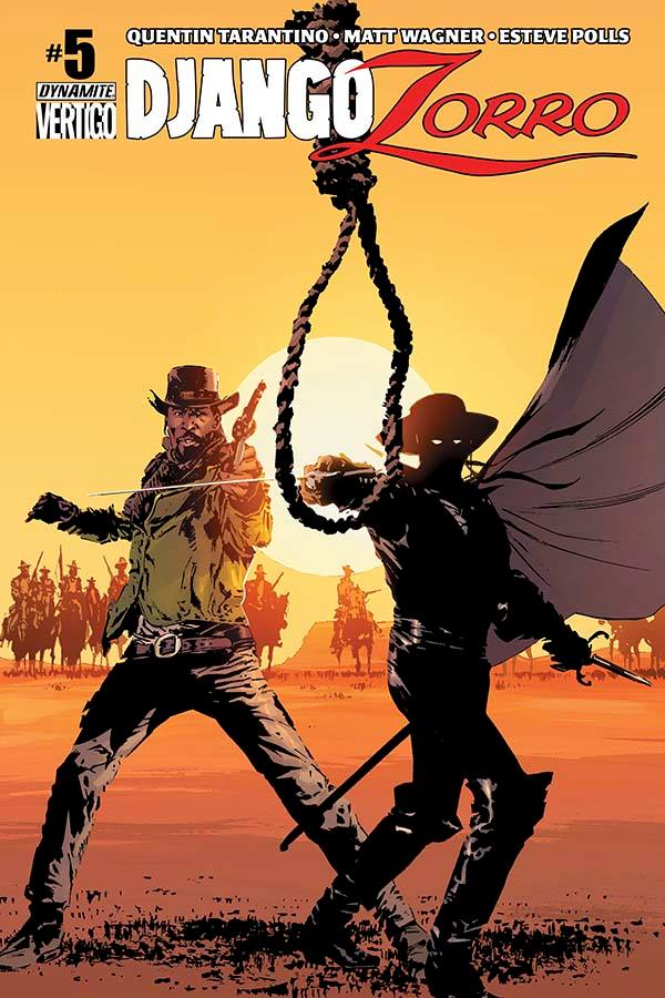 Django/Zorro #05 Cover - My colors by alexguim