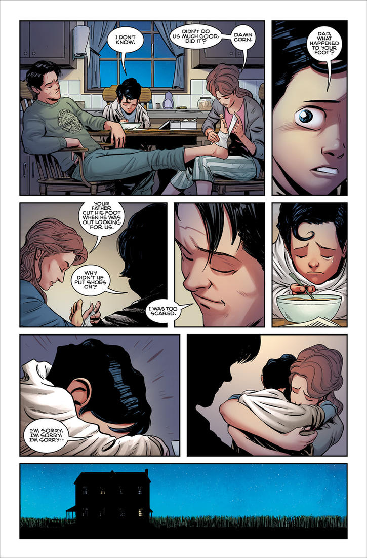 Superman: American Alien #1 by alexguim