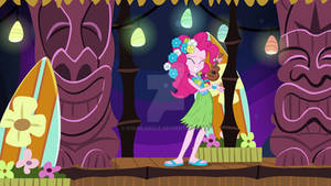 Pinkie pie in the luau