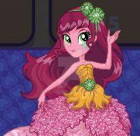 EQG Gloriosa Daisy Crystal gala artwork by Gouhlsrule