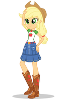 EG Better Together Applejack by Gouhlsrule