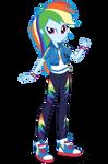 EG Better Together Rainbow Dash