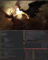 xmonad 13.8.2009 by SuperTrain