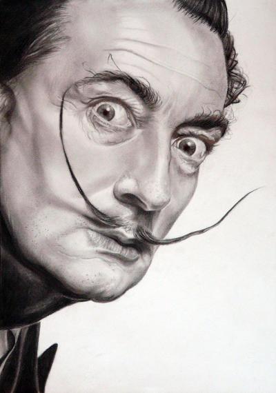 Salvador Dali by sanne-de-haan