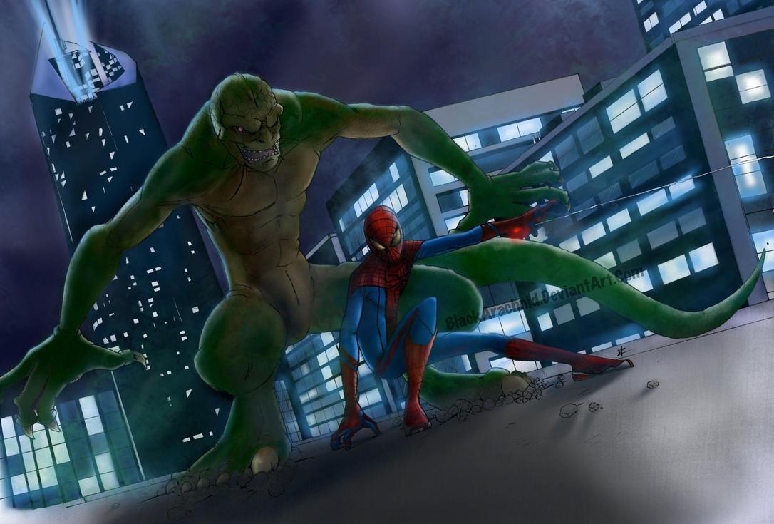 The Amazing Spider-Man by BlackArachnid