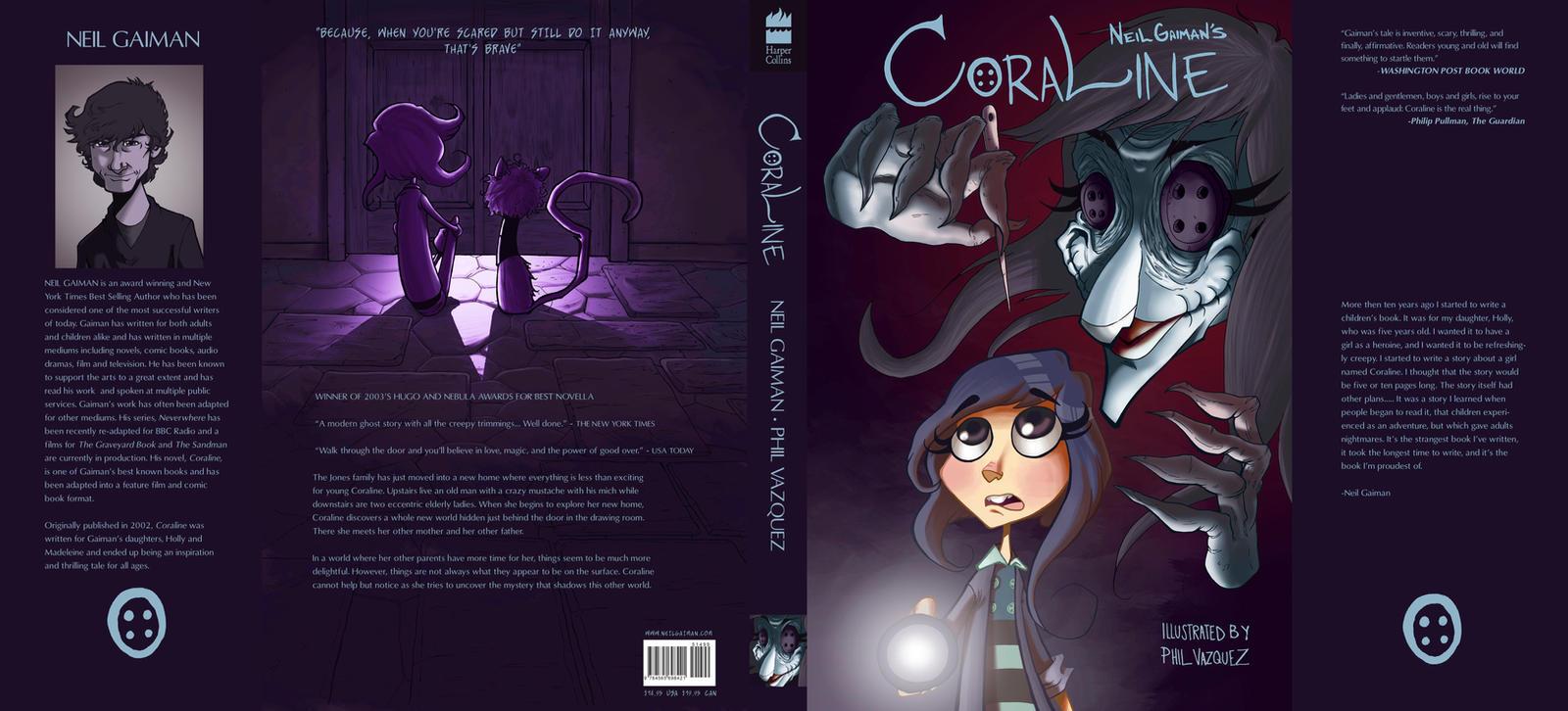 Coraline Comic Book Jacket by PhilVzQ on DeviantArt