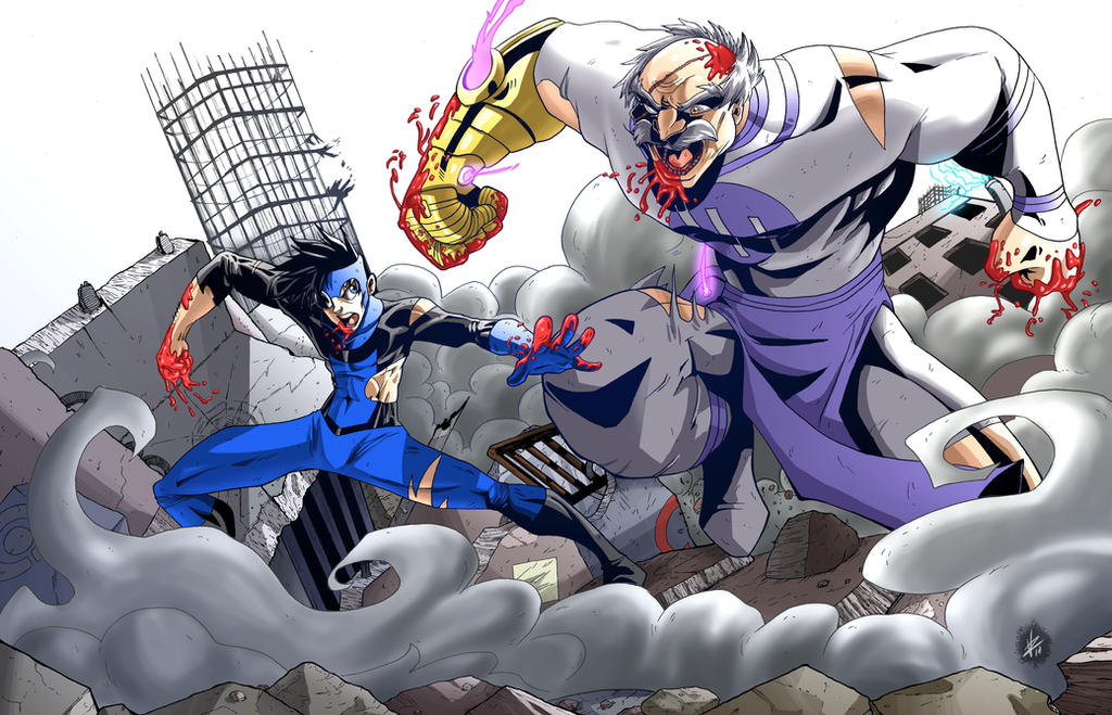 Invincible Vs Conquest by BlackArachnid