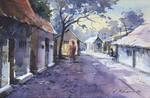 Kishor Mojumdar Watercolor Painting-64