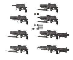 Necrovision Ultimate Gun by Kseronarogu