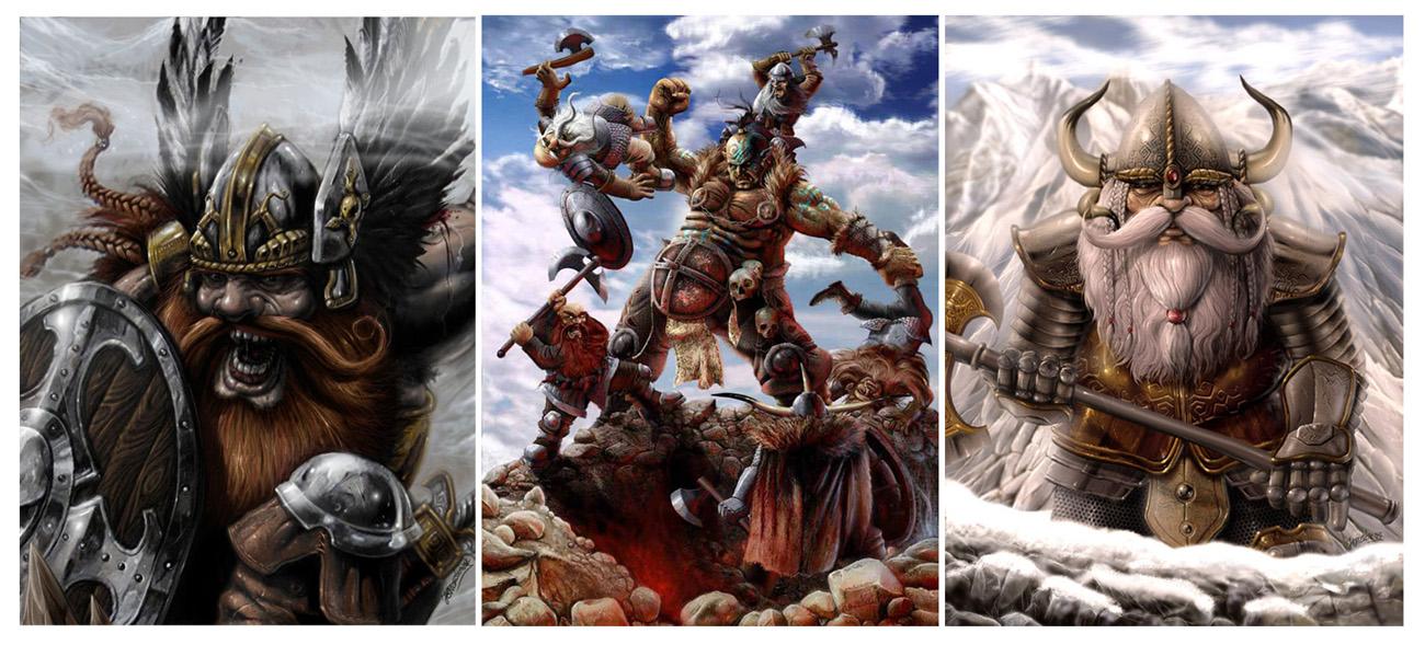 dwarves portf01 by Kseronarogu