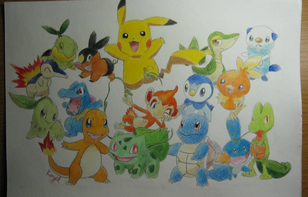 Pokemon Starters Gotta Catch Em All 335560192