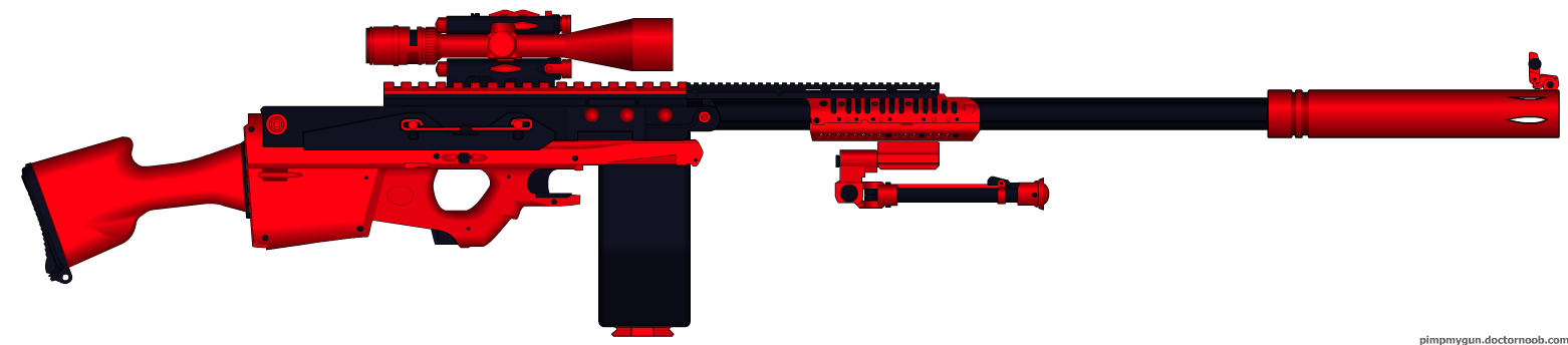 EWL-1 Hypernova Electro Laser Cannon Sniper by LOLMANIC45