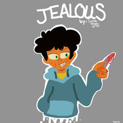 Jealous Comic Cover by spookynoodle676