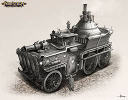 PURE STEAM - Steam Wagon by 47ness