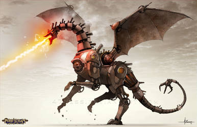 PURE STEAM - Steam Dragon