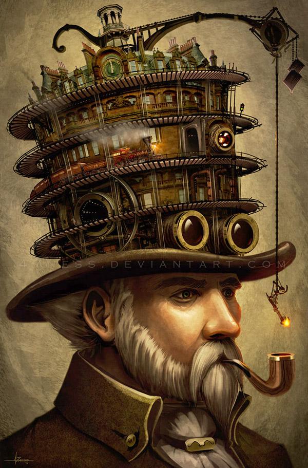 Mr. Lunger's Splendiferous Stovepipe by 47ness