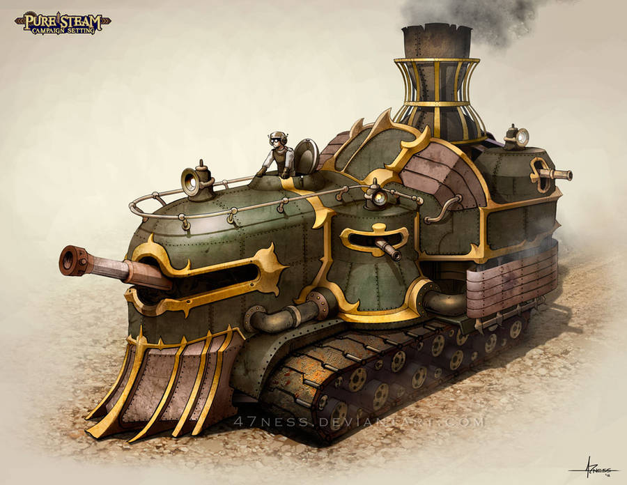 PURE STEAM - Steam Tank by 47ness