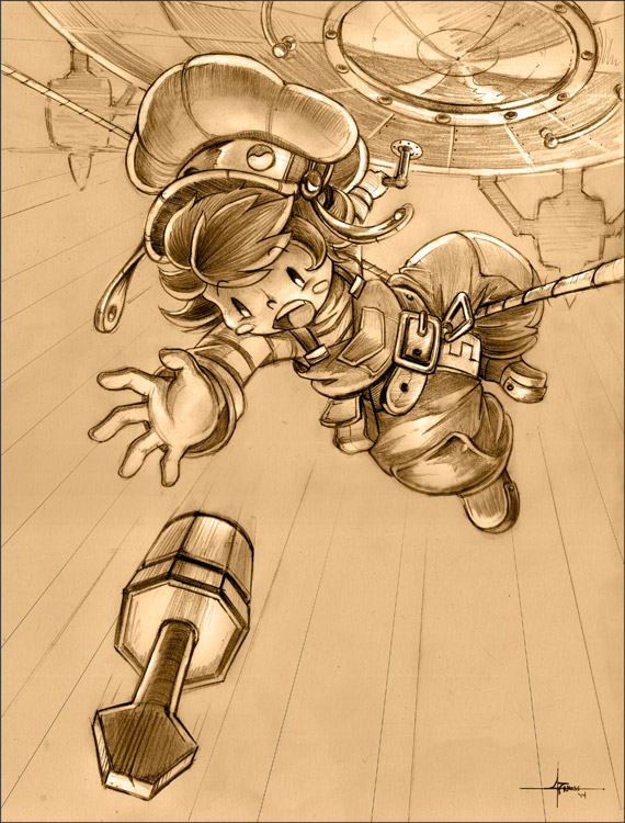 Cannon Busters - hang in there! by 47ness