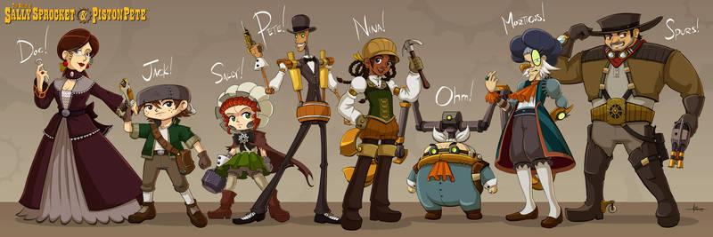 SSnPP-TAS - the cast!