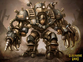 Clockwork Wars - Power Armor by 47ness