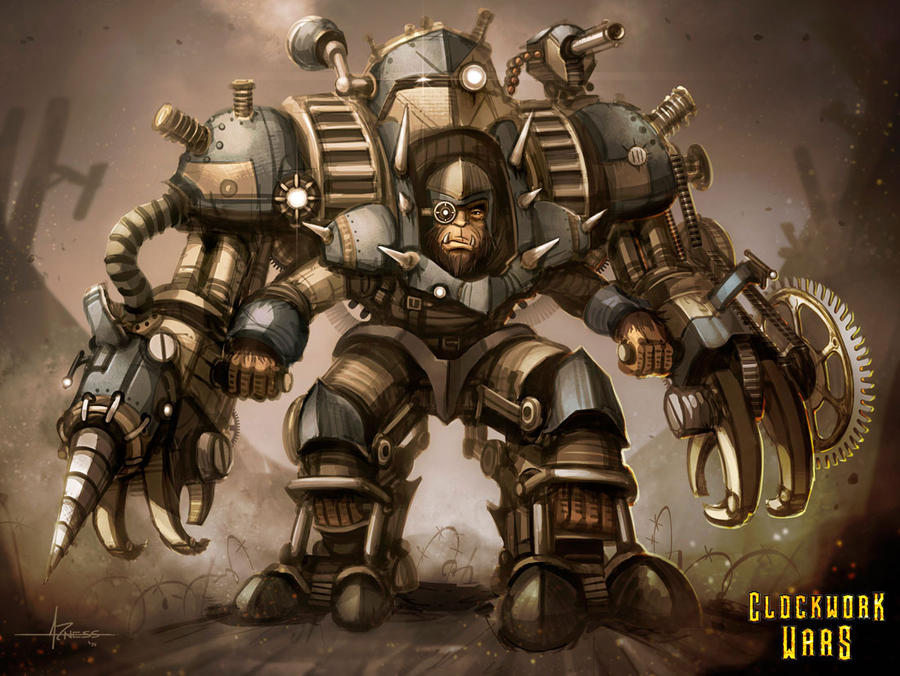Clockwork Wars - Power Armor by 47ness on DeviantArt